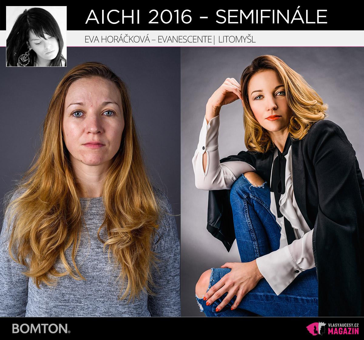 Eva Horáčková – Evanescente, Litomyšl | Proměny AICHI 2016 - postupující do semifinálového kola