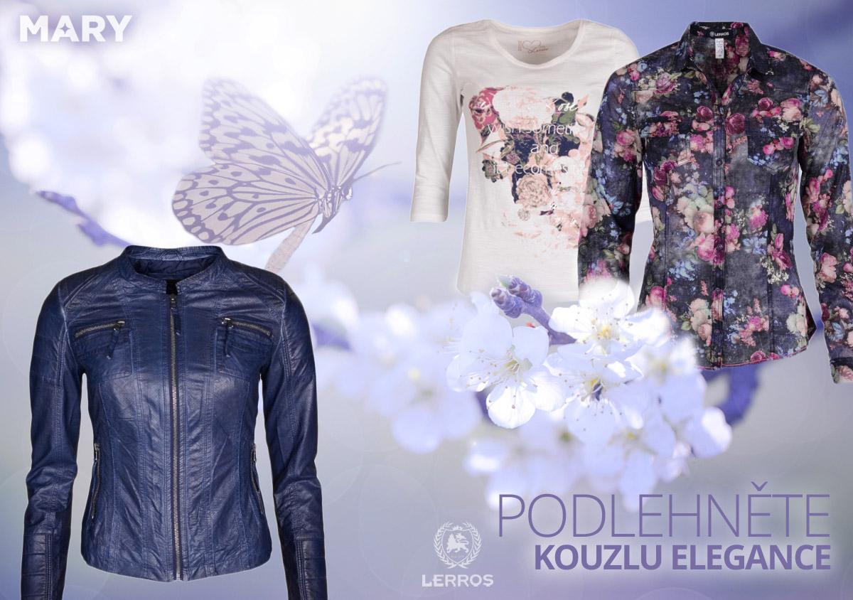 Značka Lerros – to je pohodlí a móda současně. (Dámské oblečení na obrázku koupíte v e-shopu Mary-fashion.cz.)