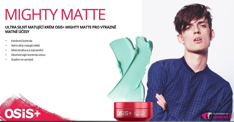OSiS+ Mighty Matte od Schwarzkopf Professional