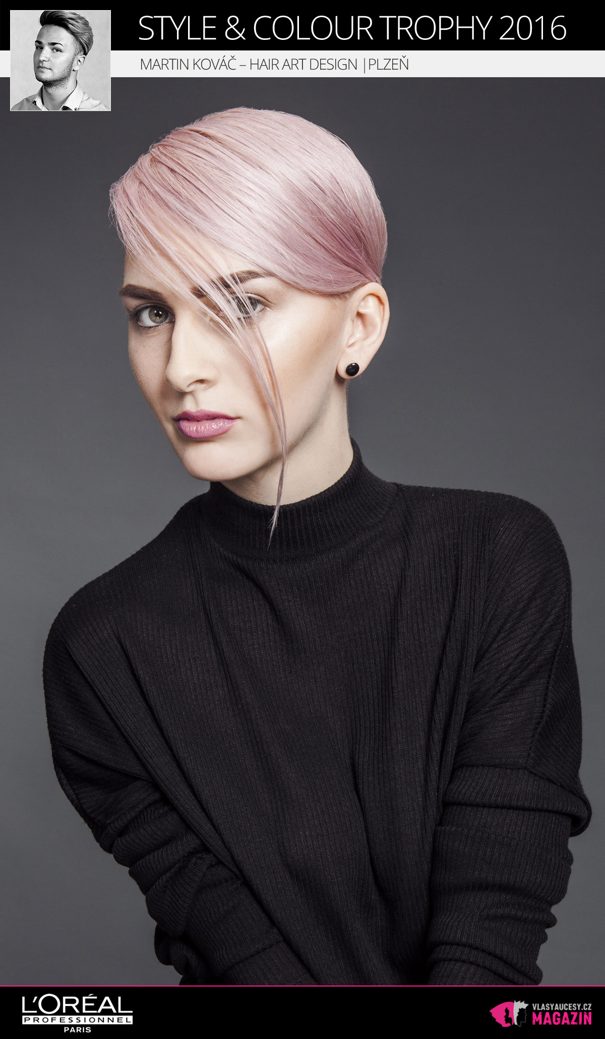 Martin Kováč –Hair Art Design, Plzeň | L'Oréal Style & Colour Trophy 2016