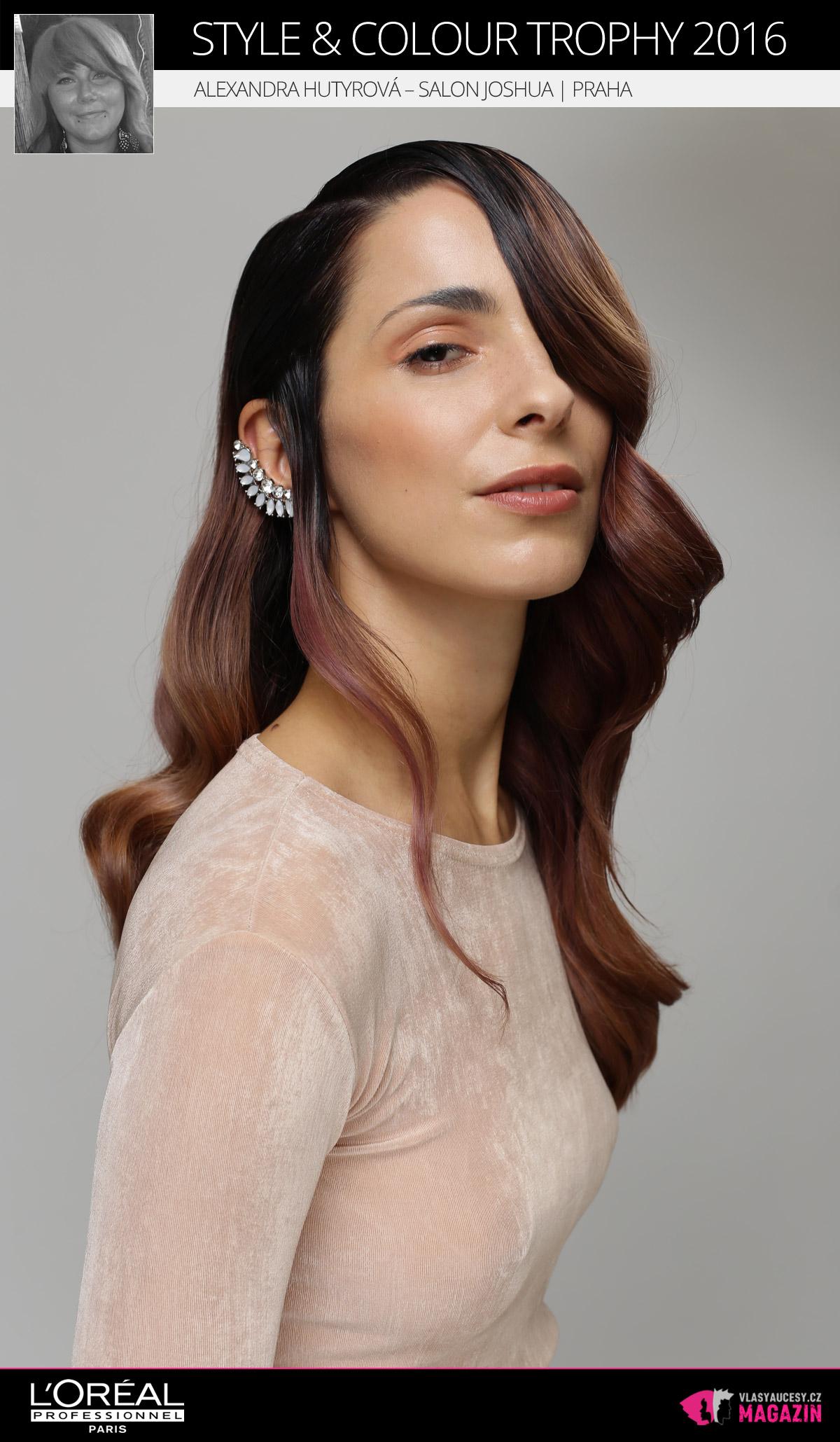 Alexandra Hutyrová –Salon Joshua, Praha | L'Oréal Style & Colour Trophy 2016