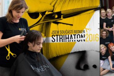 Zajít si ke kadeřníkovi a nechat si ostříhat vlasy bude opět pomáhat. Čeká nás 7. ročník charitativní akce Redken – Střihaton 2016! Zapojíte se?