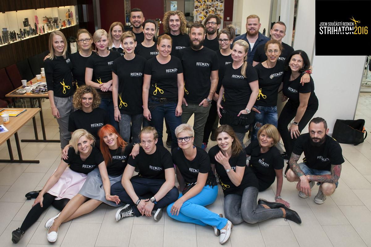 """16. června 2016 se bude konat již 7. ročník úspěšné charitativní akce značky Redken – """"kadeřnický maraton"""" Střihaton 2016."""