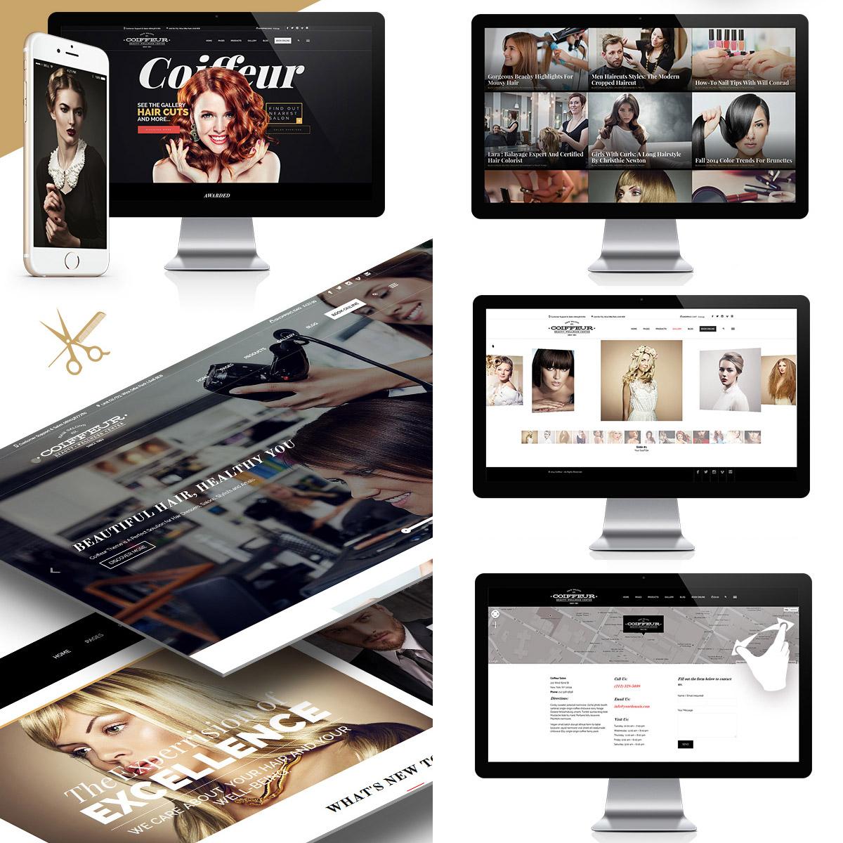 Kvalitní webové stránky jsou vaše nejdůležitější vizitka. Je jedno, jestli jako kadeřník podnikáte sám, nebo potřebujete prezentovat celý tým své firmy.
