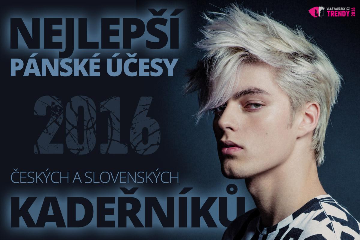 Pánský účes z Czech and Slovak Hairdressing Awards 2015 jako součást nominace Toni&Guy v kategorii Tým roku.