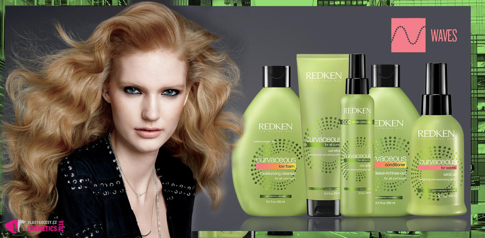 Doporučená vlasová kosmetika z řady Curvaceous pro vlny