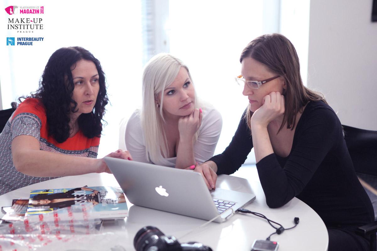 Finální výběr fotografií byl pod taktovkou projektových manažerek veletrhu Interbeauty Prague – Lucie Vrtalové a Janica Ciglianové a fotografky Nikoly Šrajerové