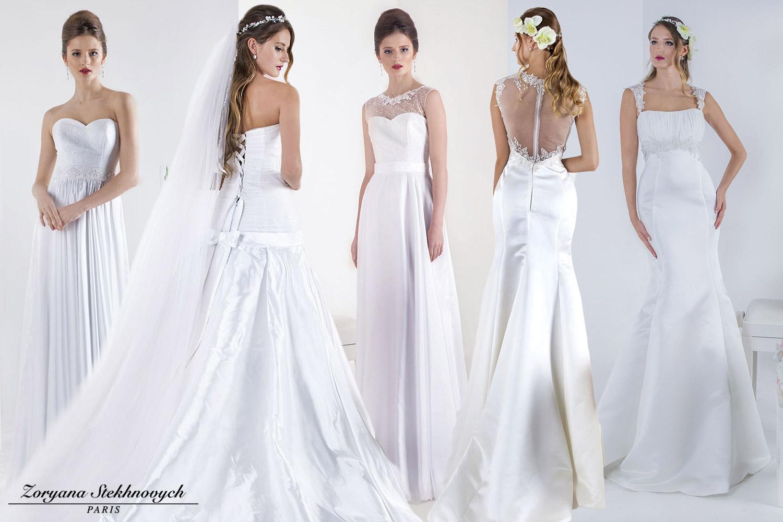 Vyberte si svatební šaty v půjčovně Atelier Della Sposa, za kterými stojí módní designérka Zoryana Steknovych. Šaty si lze jak půjčit, tak zakoupit.