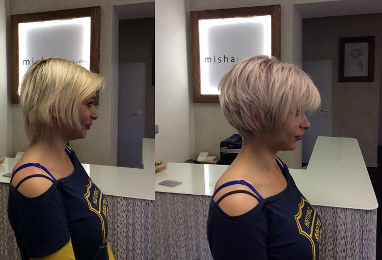 Misha/hair studio zkrášlovalo maminky ze severočeských azylových domů.