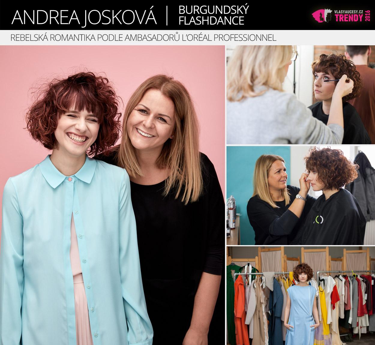 Ambasadorka L'Oréal Professionnel: Andrea Josková