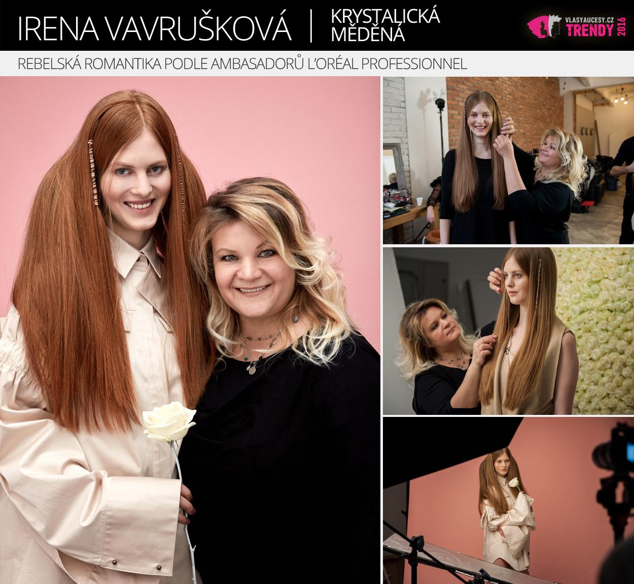 Ambasadorka L'Oréal Professionnel: Irena Vavrušková