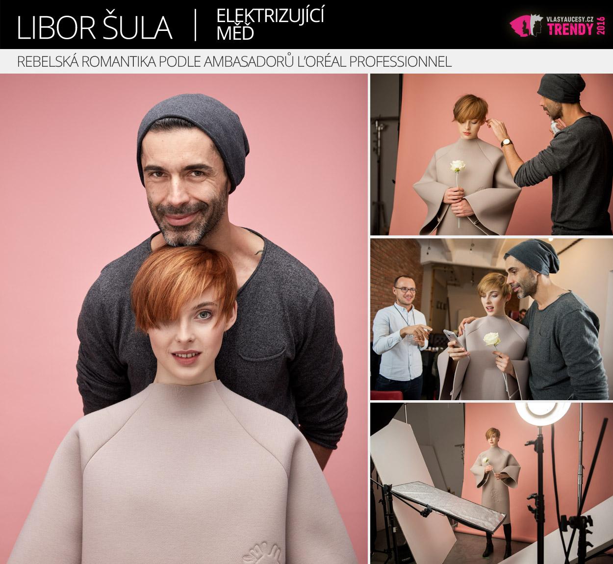 Ambasador L'Oréal Professionnel: Libor Šula