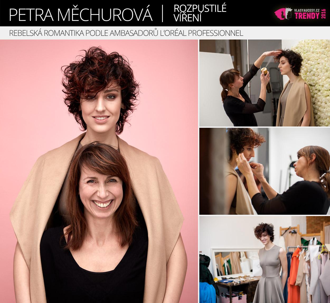 Ambasador L'Oréal Professionnel: Petra Měchurová