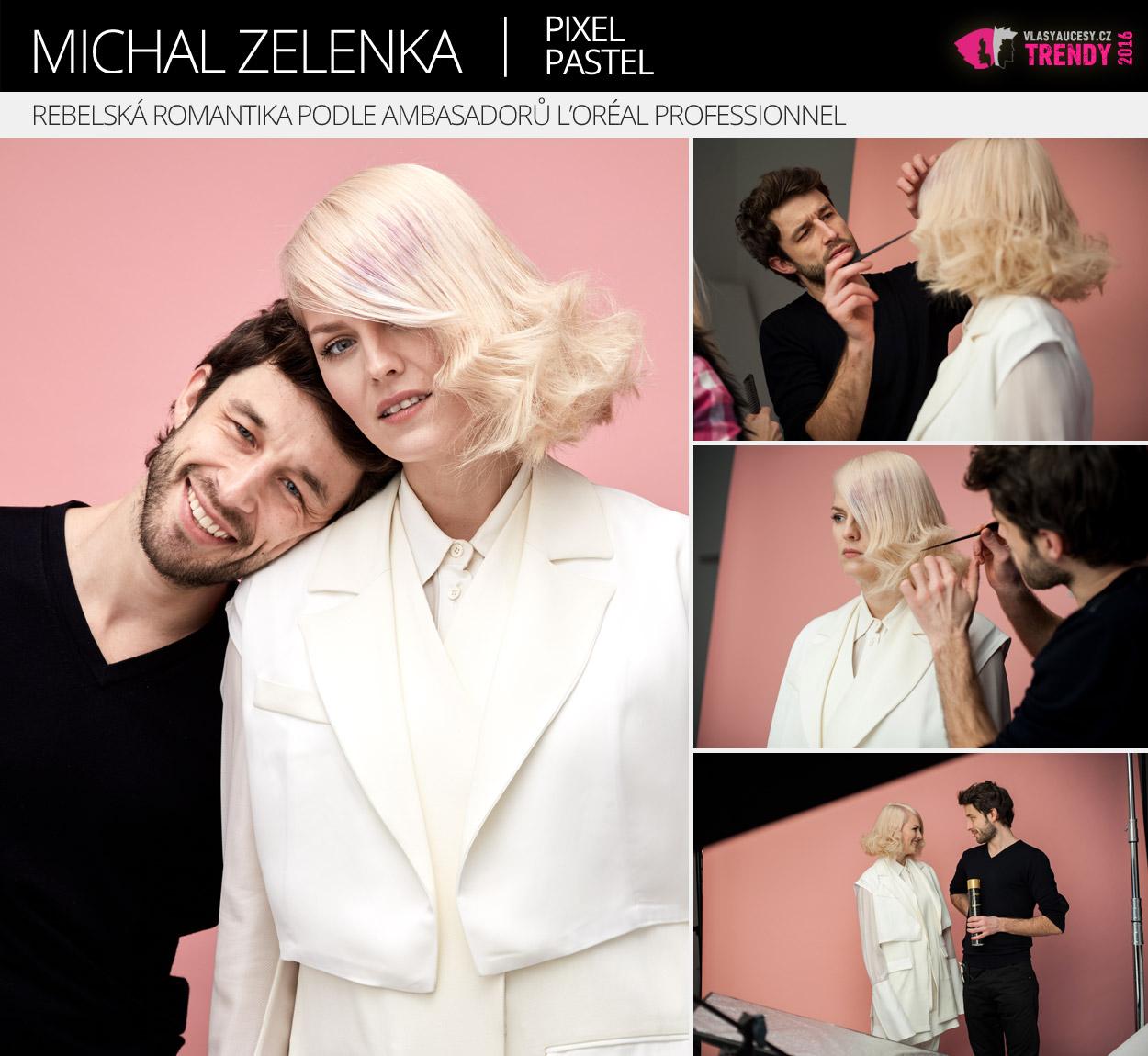 Ambasador L'Oréal Professionnel: Michal Zelenka