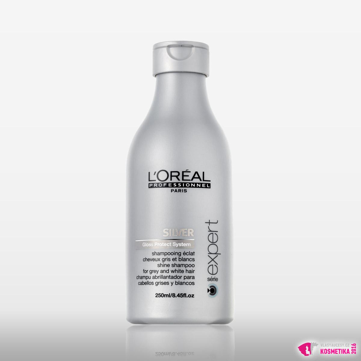 Stříbrný šampon L'Oréal Professionnel – Silver.