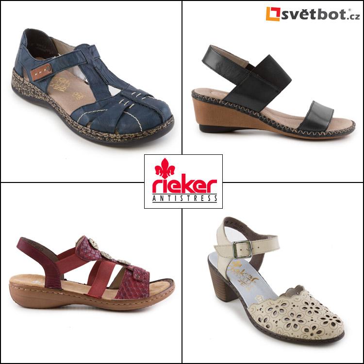 Sandály Rieker pro jaro a léto 2016 koupíte v mnoha různých modelech. Vybrané produkty jsou dostupné v e-shopu Svetbot.cz.