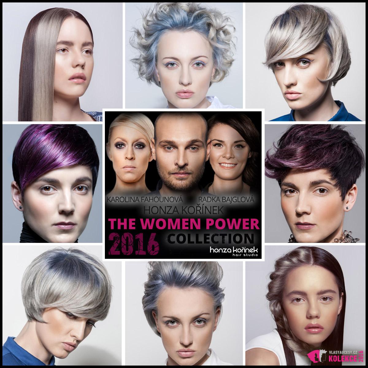 Honza Kořínek představuje svoji nejnovější kolekci The Women Power (Síla žen).