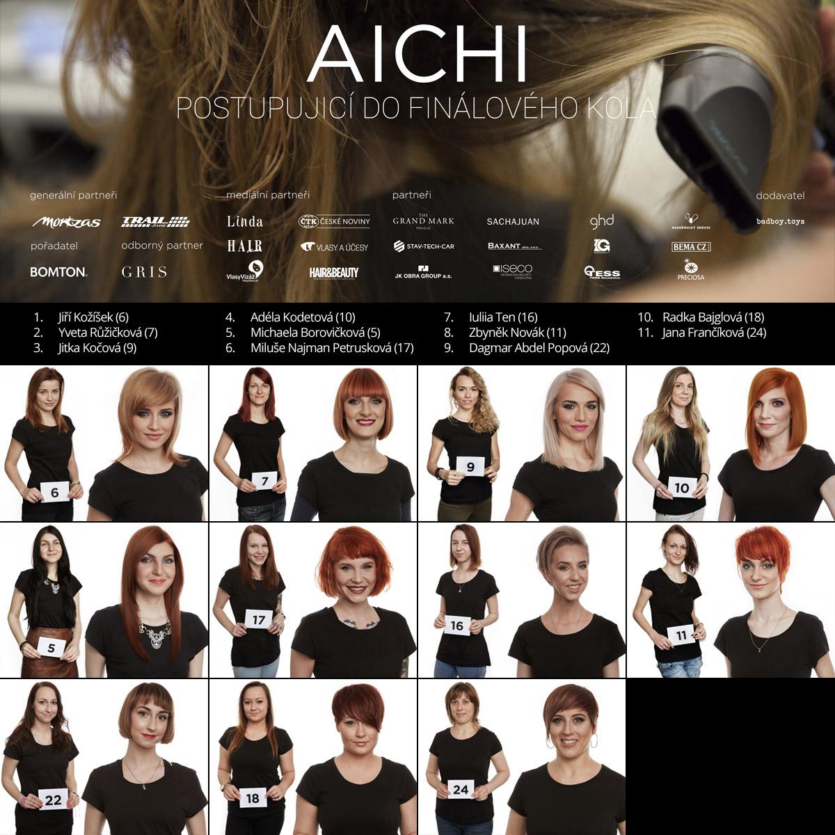 Finalisté AICHI 2016 – známe 11 postupujících do letošního finále AICHI 2016.