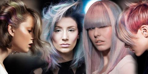 Barvy roku 2016 – Rose Quartz & Serenity, inspirovaly i letošní barvy na vlasy. Hitem jsou modro-růžové melíry připomínající rozbřesk a stmívání.
