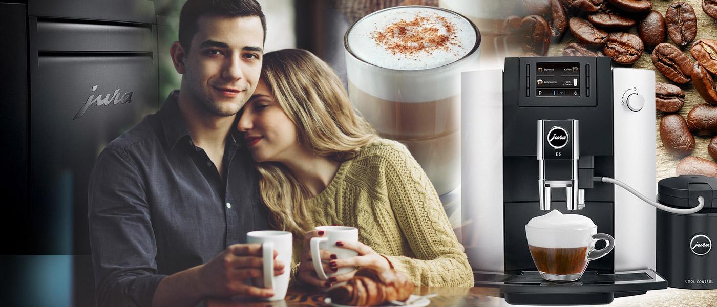 Je pro vás pití kávy více než jen běžná denní rutina? Skutečný požitek z chuti i vůně kávy poskytne kávovar Jura.