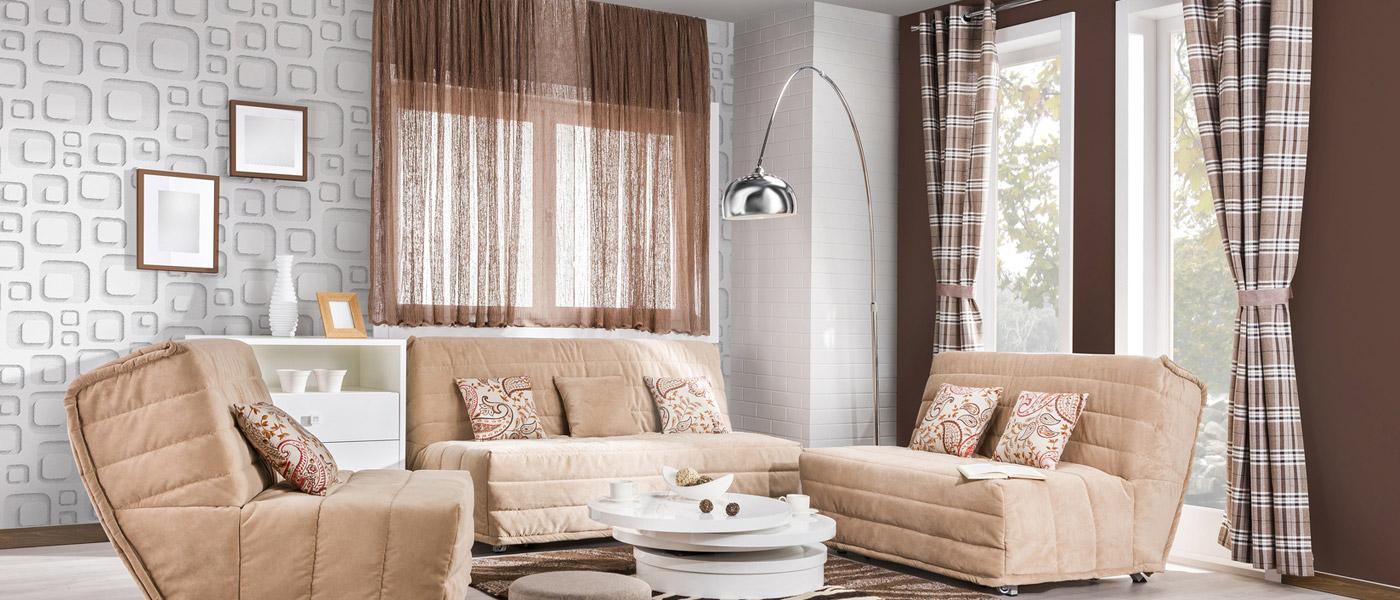 Někdy stačí pro hezčí interiér málo. Třeba jen vyměnit bytový textil. Nové záclony, závěsy, kuchyňský či koupelnový textil dokážou udělat velkou změnu.
