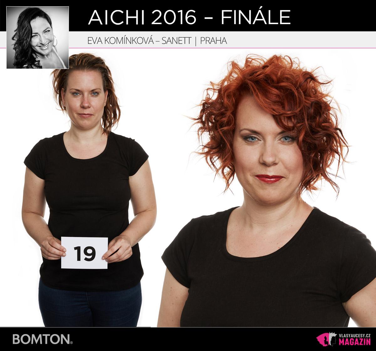 Semifinálová proměna AICHI 2016: Eva Komínková, Sanett, Praha