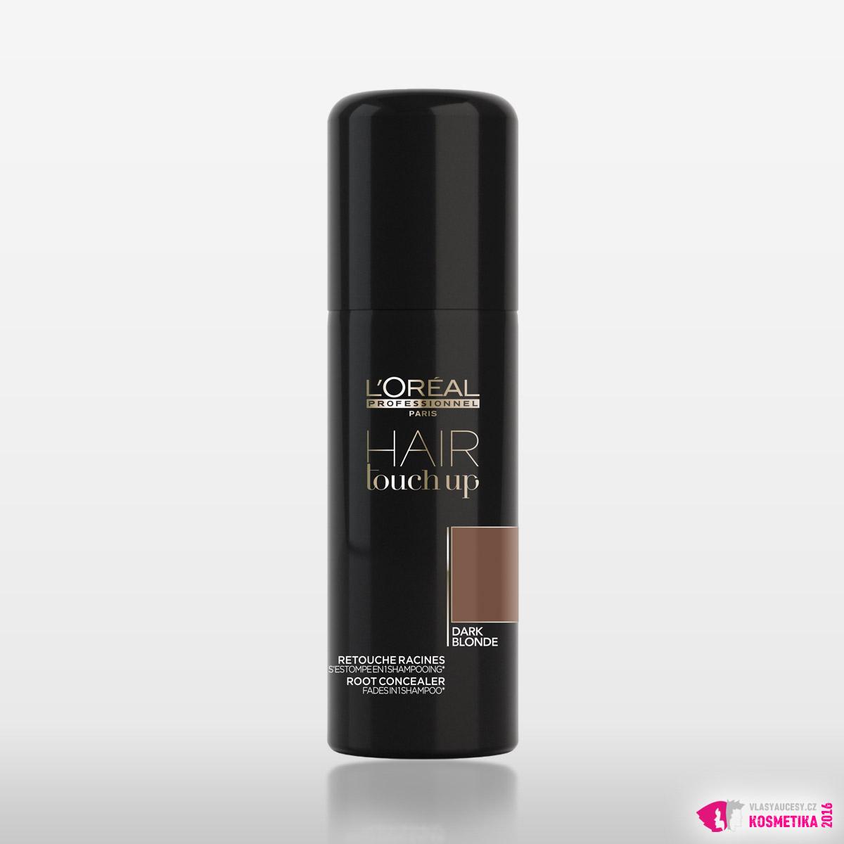 Krycí sprej na odrosty Hair Touch Up v tmavě blond barvě