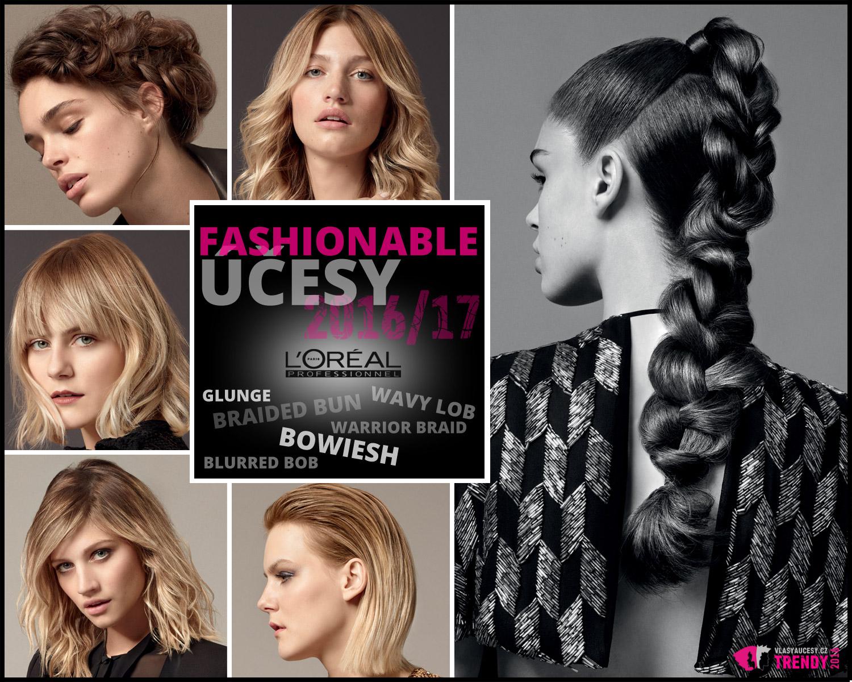 L'Oréal Professionnel představuje mezinárodní kolekci s účesy podzim/zima 2016/2017 s názvem Fashionable.