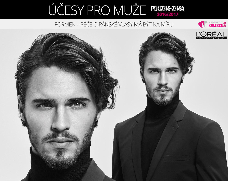L'Oréal Professionnel představuje pánské účesy podzim/zima 2016/2017 i s nadílkou pánské vlasové kosmetiky.