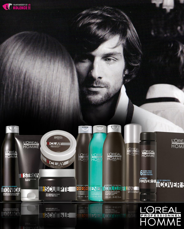 Styling L'Oréal Professionnel Homme pro nové pánské účesy podzim/zima 2016/2017
