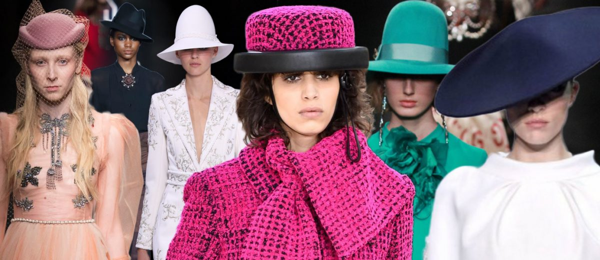 Jaké dámské klobouky podzim/zima 2016/2017 doporučují módní návrháři? Móda přináší do dámského šatníků eleganci, pánský styl i extravaganci.