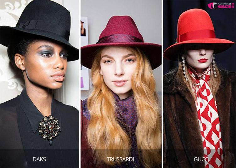 Klobouky pro podzim 2016 a zimu 2017 se nosí ve stylu mafiánských bossů.