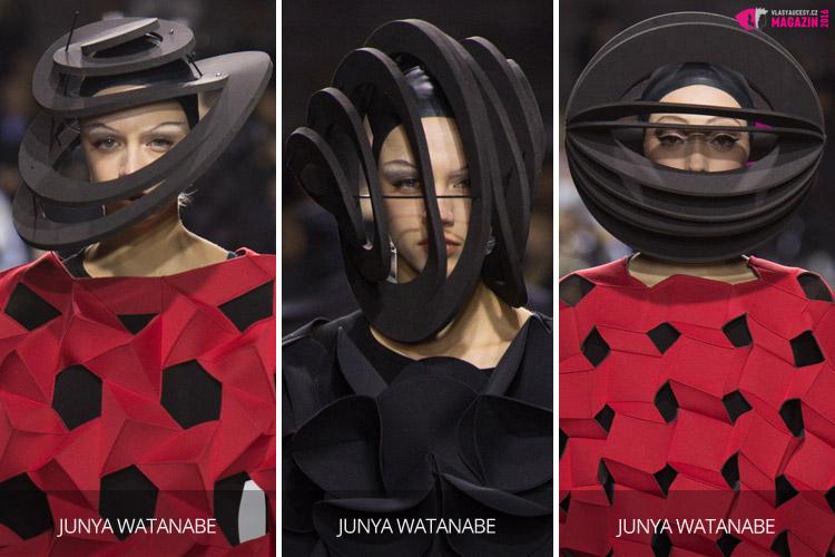 V extravaganci je síla aktuální kloboukové módy.