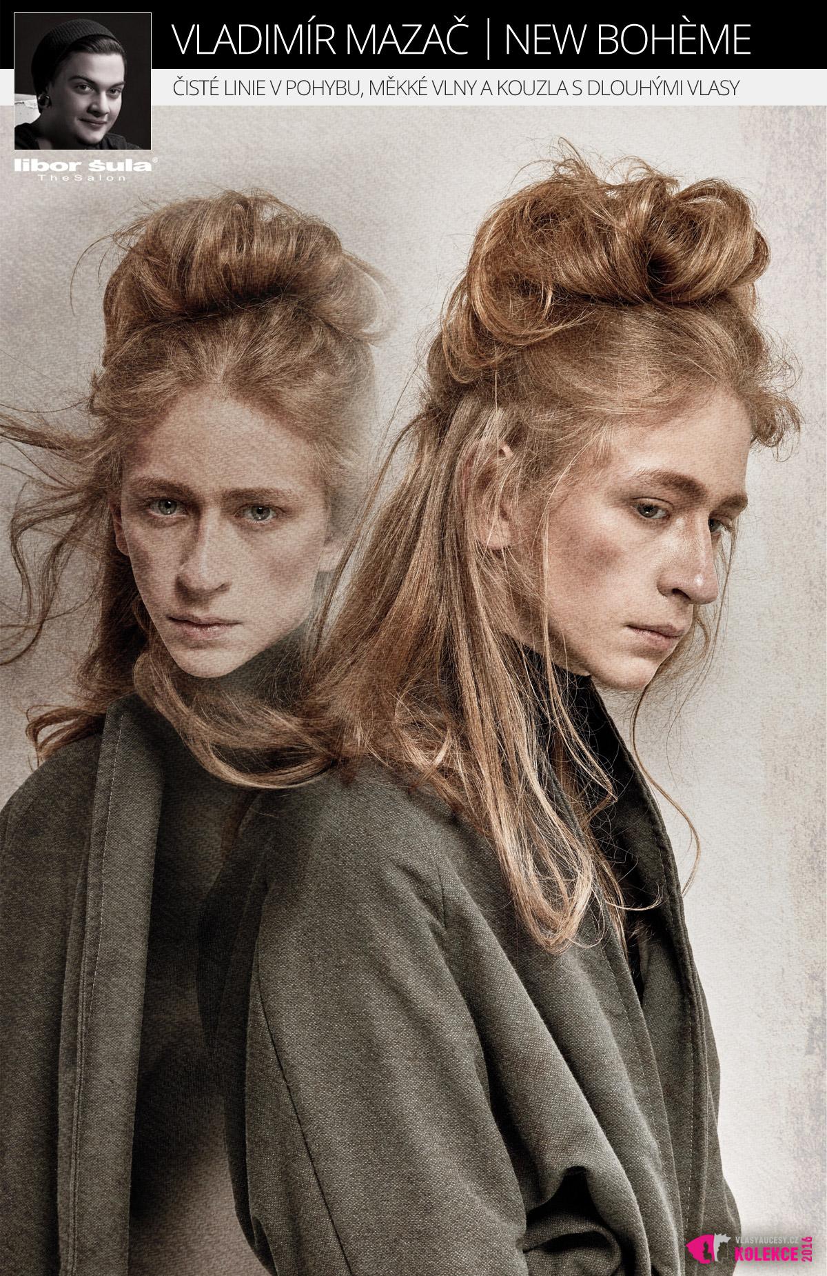 Dlouhé vlasy pro muže: Libor Šula The Salon – NEW BOHÈME.