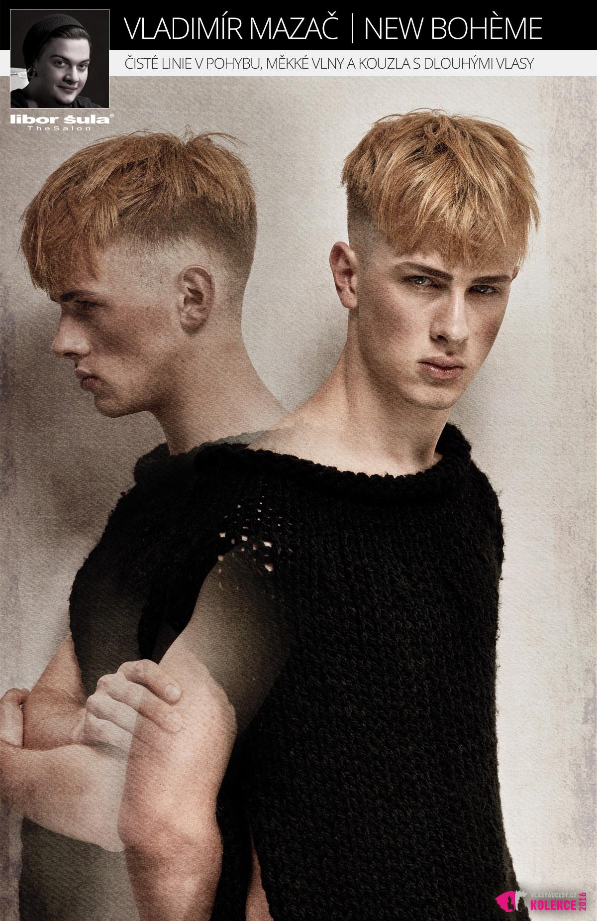 Krátké pánské vlasy: Libor Šula The Salon – NEW BOHÈME.