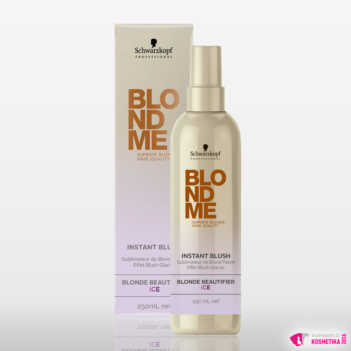 BlondMe Instant Blush - Blonde Beautifier Ice od Schwarzkopf Professional