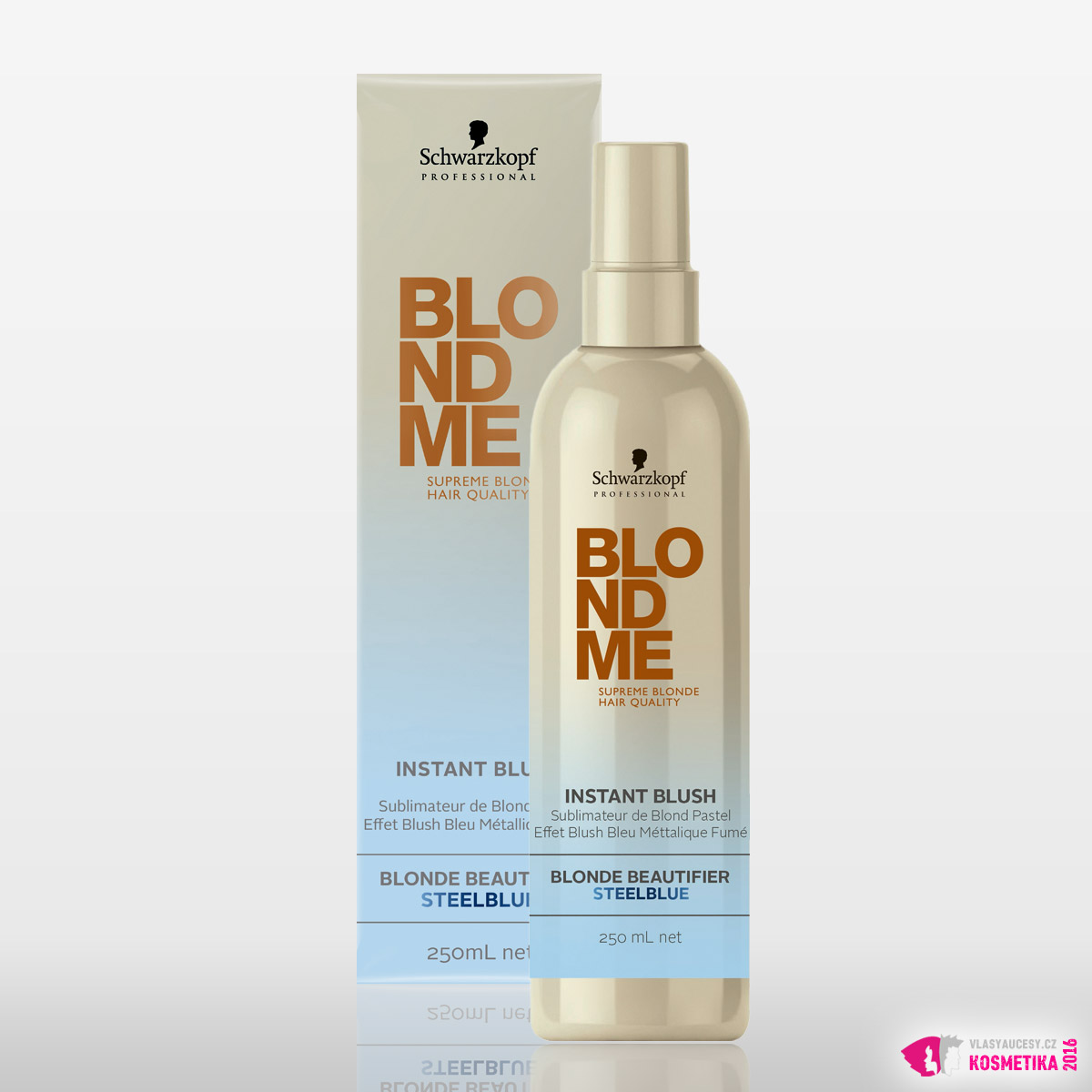 BlondMe Instant Blush - Blonde Beautifier Steelblue od Schwarzkopf Professional