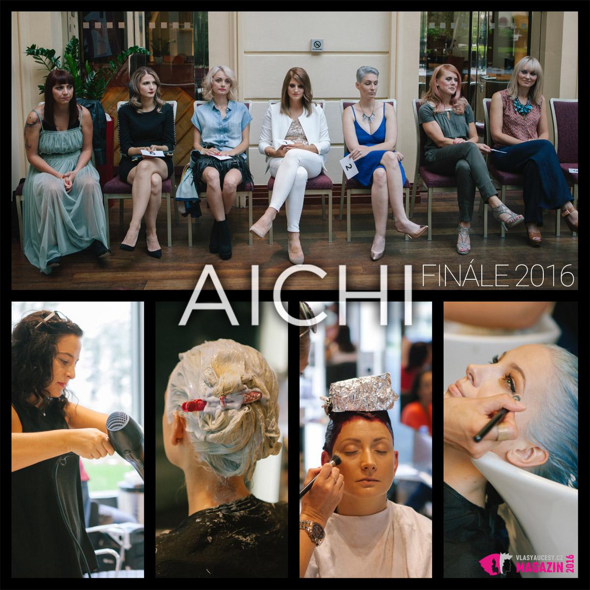Finále AICHI 2016 – malá ochutnávka umění soutěžících kadeřníků a jejich týmů.