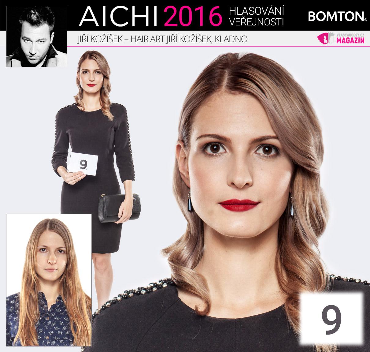 Finálová proměna AICHI 2016: Jiří Kožíšek, Hair Art Jiří Kožíšek, Kladno