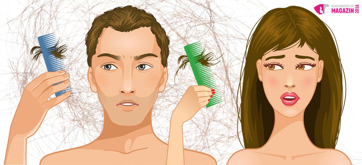 Zinek proti vypadávání vlasů se hodí pro ženy i pro muže.