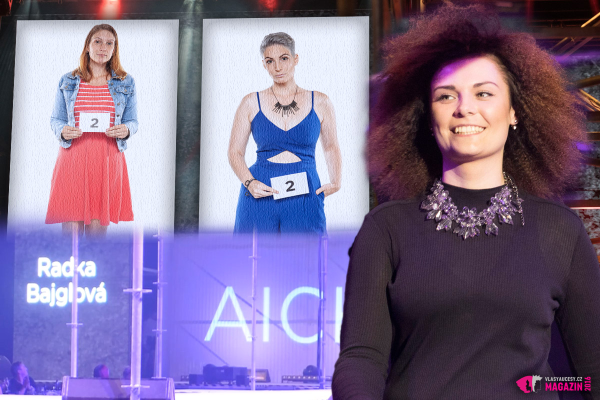 Galavečer AICHI 2016: Radka Bajglová – Hair studio Honza Kořínek, Praha