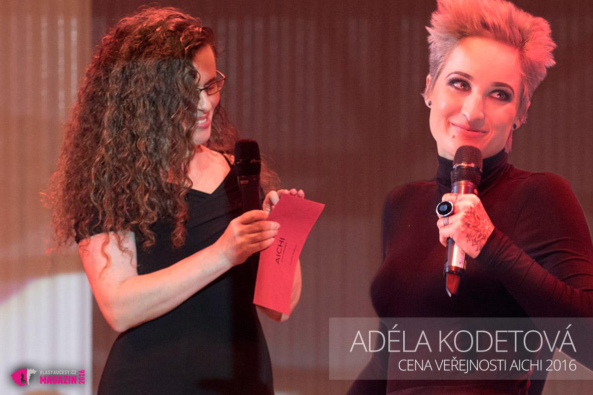 Cenu veřejnosti AICHI 2016 získala letos po roční odmlce opět Adéla Kodetová z AKA Karlovy Vary.