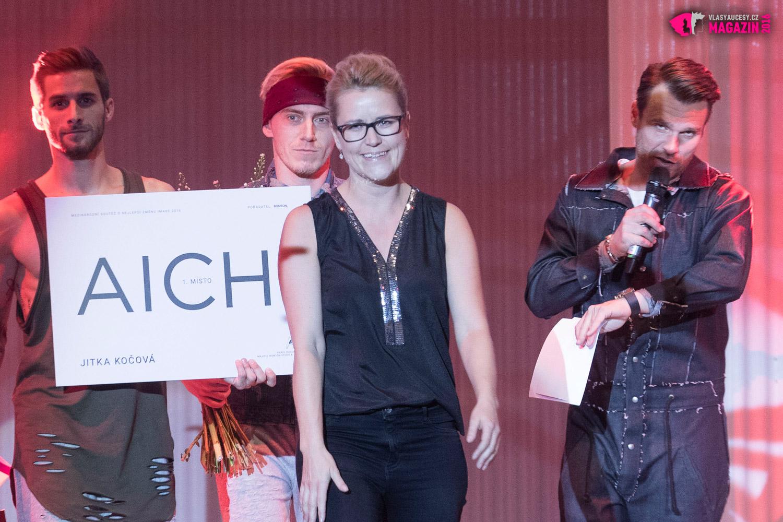 Vítězka AICHI 2016 Jitka Kočová, Hair Design Unique, Plzeň