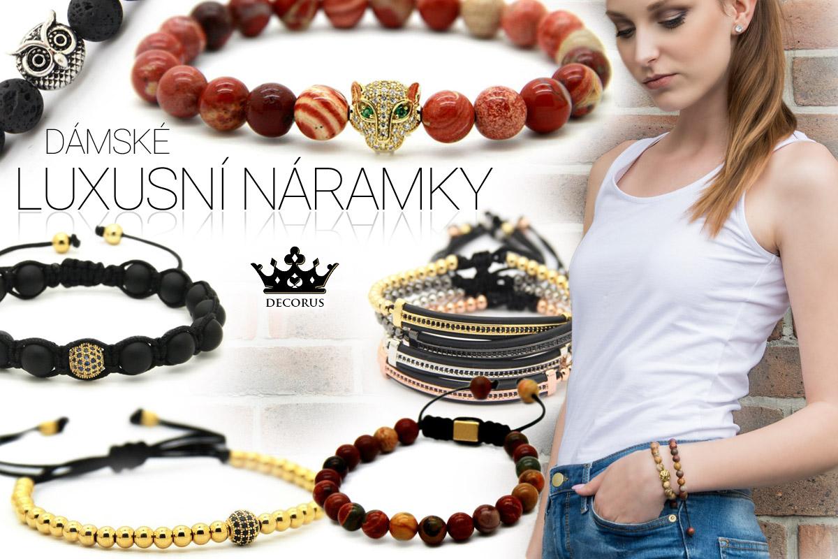 Náramky Decorus jsou stylovým módním šperkem.