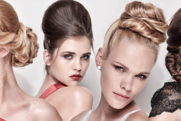 """Nové společenské účesy podzim 2016 a zima 2017 představuje Libor Šula The Salon jako aktuální """"(ne)učesaný"""" trend v kombinaci s pletenými efekty."""