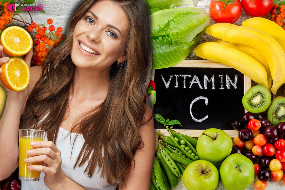 C-čko je silný antioxidant a neodmyslitelně důležitým je i pro zdraví a krásu našich vlasů. Nezapomeňte jej doplňovat zejména v podobě na vitamín C bohaté stravy v podobě zeleniny a ovoce.