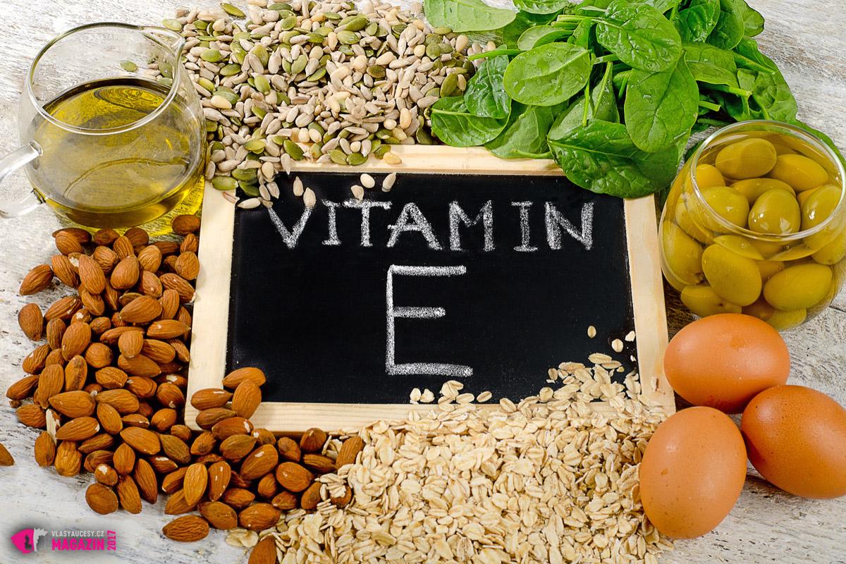 Vitamín E bude chutnat nejen vašim vlasům, ale i vám. Zejména ve své přirozené formě, tedy v potravinách, které jej obsahují ve zvýšeném množství.
