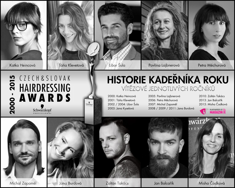 Soutěž Kadeřník roku s oficiálním názvem Czech and Slovak Hairdressing Awards, slaví letos 15 let. Jak se soutěž podepsala na módních trendech?