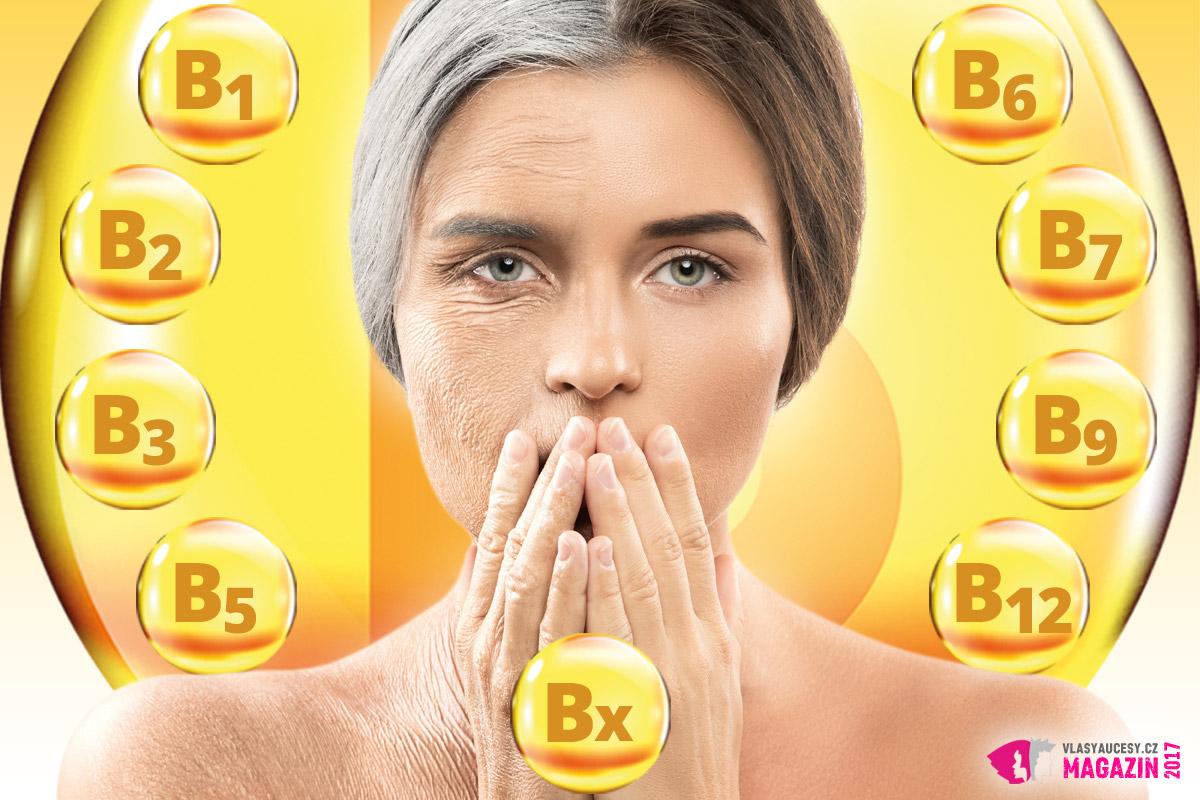 Vitamíny řady B jsou vitamíny mladí i pro naše vlasy.