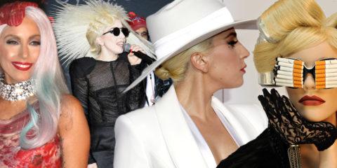 Účesy Lady Gaga jsou stejným pojmem, jako její crazy oblečení, ve kterém se objevuje nejen na svých koncertech, ale běžně i na veřejnosti.